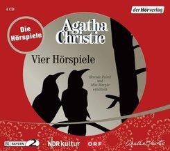 Vier Hörspiele, 5 Audio-CDs