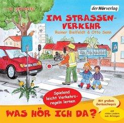 Was hör ich da? Im Straßenverkehr, 1 Audio-CD
