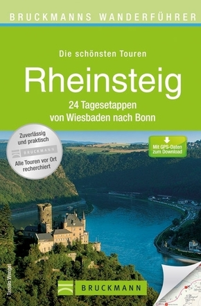 Bruckmanns Wanderführer Rheinsteig