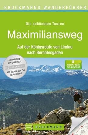 Bruckmanns Wanderführer Maximiliansweg
