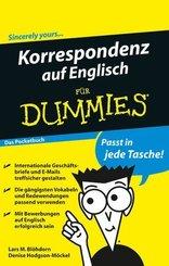 Korrespondenz auf Englisch für Dummies