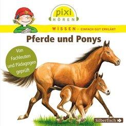 Pferde und Ponys, 1 Audio-CD