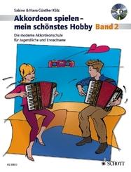 Akkordeon spielen - mein schönstes Hobby, m. Audio-CD - Bd.2
