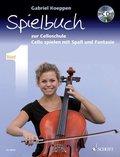 Cello spielen mit Spaß und Fantasie, Spielbuch für 1-3 Violoncelli, teilweise mit Klavier, m. Audio-CD - Bd.1
