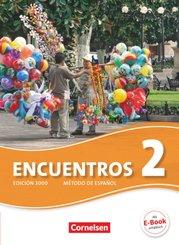 Encuentros - Método de Español - 3. Fremdsprache - Edición 3000 - Band 2