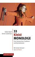 33 Kleist-Monologe