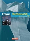 Fokus Mathematik, Gymnasium Rheinland-Pfalz: 10. Schuljahr, Schülerbuch