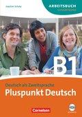 Pluspunkt Deutsch, Ausgabe 2009: Arbeitsbuch Gesamtband (Lektion 1-14), m. 2 Audio-CDs; Bd.B1