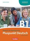 Pluspunkt Deutsch, Ausgabe 2009: Kursbuch (Lektion 8-14); Bd.B1/2