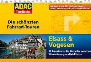 ADAC TourBooks Die schönsten Fahrrad-Touren, Elsass & Vogesen