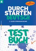 Durchstarten Deutsch, Neubearbeitung: 6. Schuljahr, Testbuch