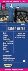 Reise Know-How Landkarte Naher Osten; Middle East; Proche Orient. Oriente próximo