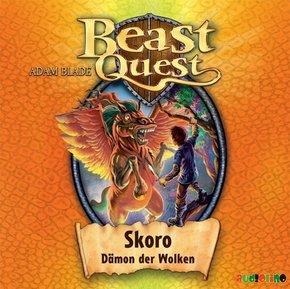 Beast Quest - Skoro, Dämon der Wolken, 1 Audio-CD