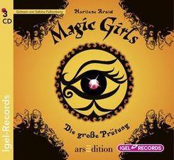 Magic Girls - Die große Prüfung, 3 Audio-CDs