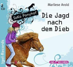 Soko Ponyhof - Die Jagd nach dem Dieb, 2 Audio-CDs