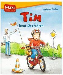 Tim lernt Rad fahren - Maxi Bilderbuch