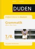 Duden Einfach klasse in Deutsch, Grammatik 7./8. Klasse