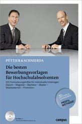 Die besten Bewerbungsvorlagen für Hochschulabsolventen, m. CD-ROM