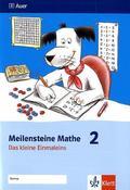 Meilensteine Mathe: 1./2. Schuljahr, Das kleine Einmaleins; Bd.2