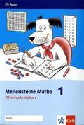 Meilensteine Mathe: 1. Schuljahr, Ziffernschreibkurs; Bd.1