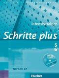 Schritte plus - Deutsch als Fremdsprache: Intensivtrainer, m. Audio-CD; Bd.5/6