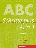 Schritte plus Alpha: Kursbuch, m. Audio-CD; Bd.1