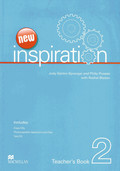 New Inspiration: Teacher's Book, w. Test-CD-ROM and Audio-CD; Level.2