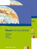 Haack Verbundatlas: Ausgabe Niedersachsen und Bremen, m. Arbeitsheft Kartenlesen