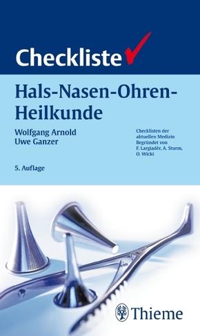 Checkliste Hals-Nasen-Ohren-Heilkunde