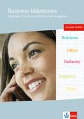 Business Milestones, Neubearbeitung: Workbook für alle kaufmännischen Ausgaben, m. Audio-CD-ROM