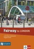 Fairway to London, m. Audio-CD