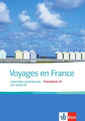 Voyages en France, m. Audio-CD