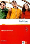 Red Line: Klasse 7, Vokabeltraining aktiv; Bd.3