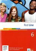 Red Line: Klasse 10, Workbook m. Audio-CD u. CD-ROM; Bd.6