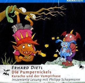 Die Pumpernickels - Karacho und der Vampirhase, 1 Audio-CD
