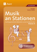Musik an Stationen, Klasse 4, m. Audio-CD