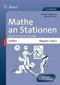 Größen an Stationen, Klassen 1 und 2
