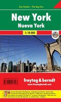 Freytag & Berndt Stadtplan New York; Nueva York