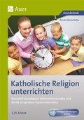 Katholische Religion unterrichten, 3./4. Klasse, m. CD-ROM