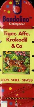Bandolino (Spiele): Tiger, Affe, Krokodil & Co (Kinderspiel); Set.47