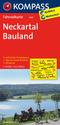KOMPASS Fahrradkarte Neckartal - Bauland