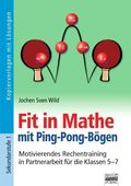 Fit in Mathe mit Ping-Pong-Bögen