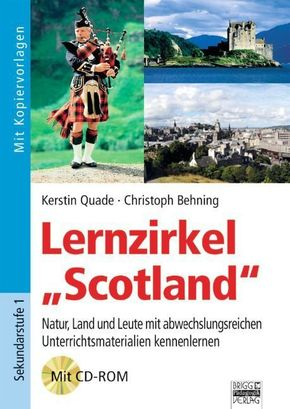"Lernzirkel ""Scotland"", m. CD-ROM"