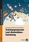Trainingsprogramm Laut-Buchstaben-Zuordnung