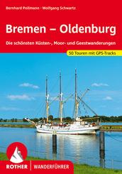Rother Wanderführer Bremen - Oldenburg