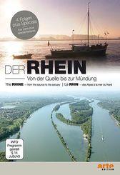 Der Rhein - Von der Quelle bis zur Mündung, 2 DVDs