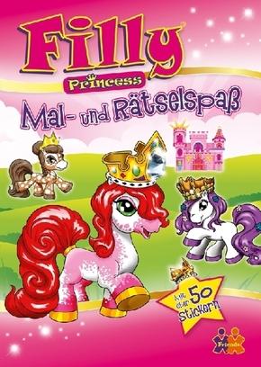 Filly Princess: Mal- und Rätselspaß