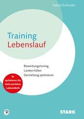 Training Lebenslauf, m. CD-ROM
