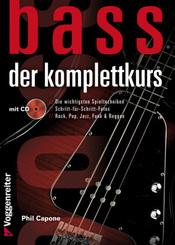 Bass. Der Komplettkurs, m. Audio-CD