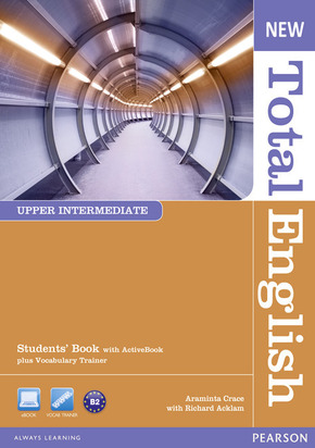 New Total English, Upper Intermediate: Students' Book with ActiveBook (CD-ROM) plus Vocabulary Trainer